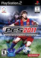 Carátula Pro Evolution Soccer 2011 para PlayStation 2