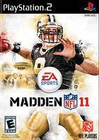 Carátula Madden NFL 11 para PlayStation 2