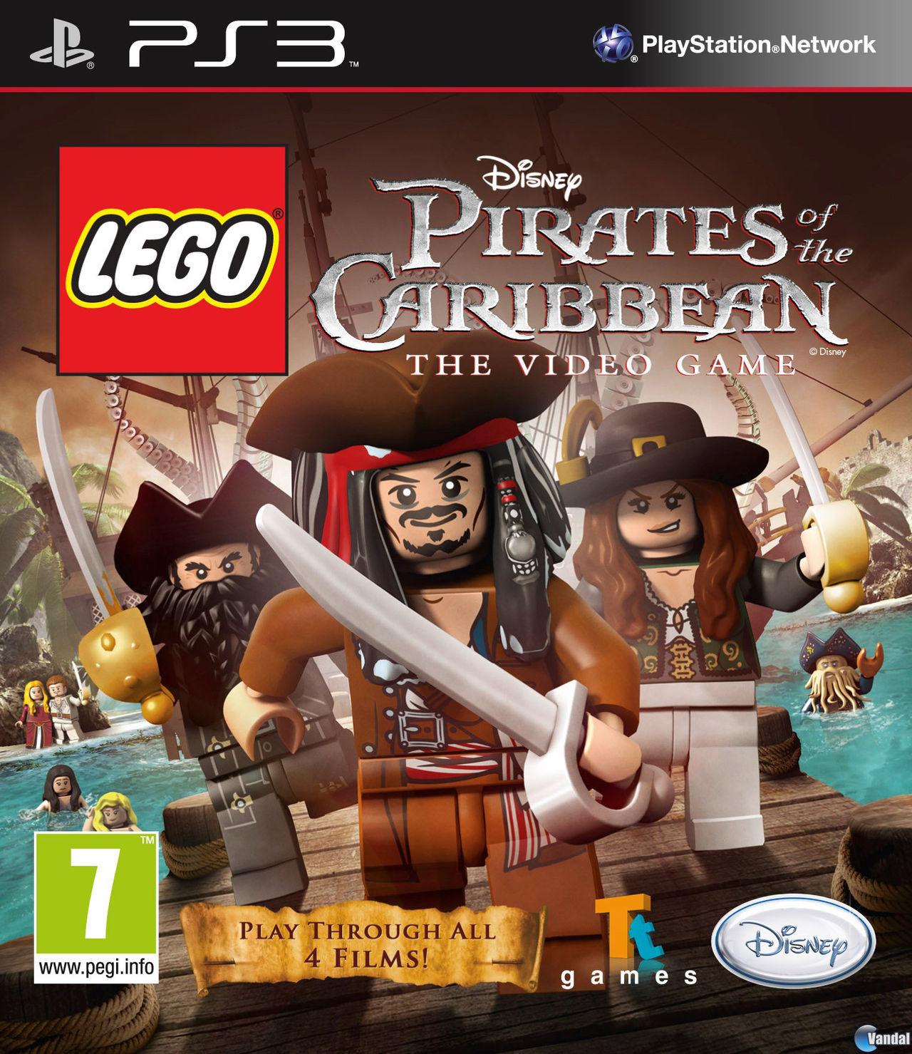 Lego Piratas Del Caribe Toda La Informacion Ps3 Xbox 360 Psp