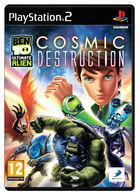 Carátula Ben 10 Ultimate Alien Cosmic Destruction para PlayStation 2