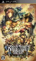 Carátula Grand Knights History para PSP