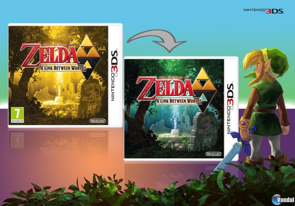 La Portada De The Legend Of Zelda A Link Between Worls Sera