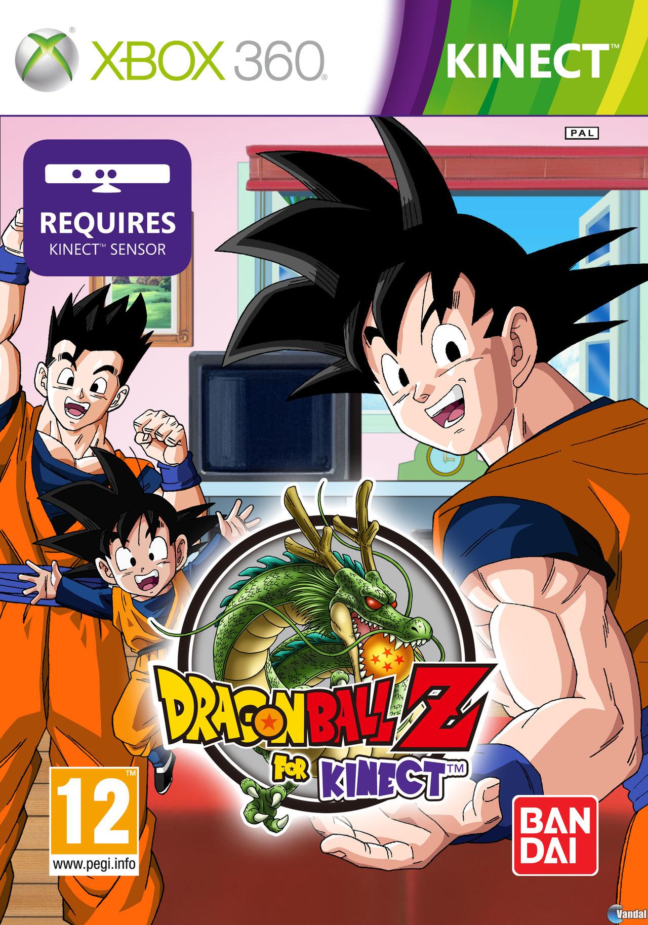 Dragon Ball Z Para Kinect Toda La Informacion Xbox 360 Vandal