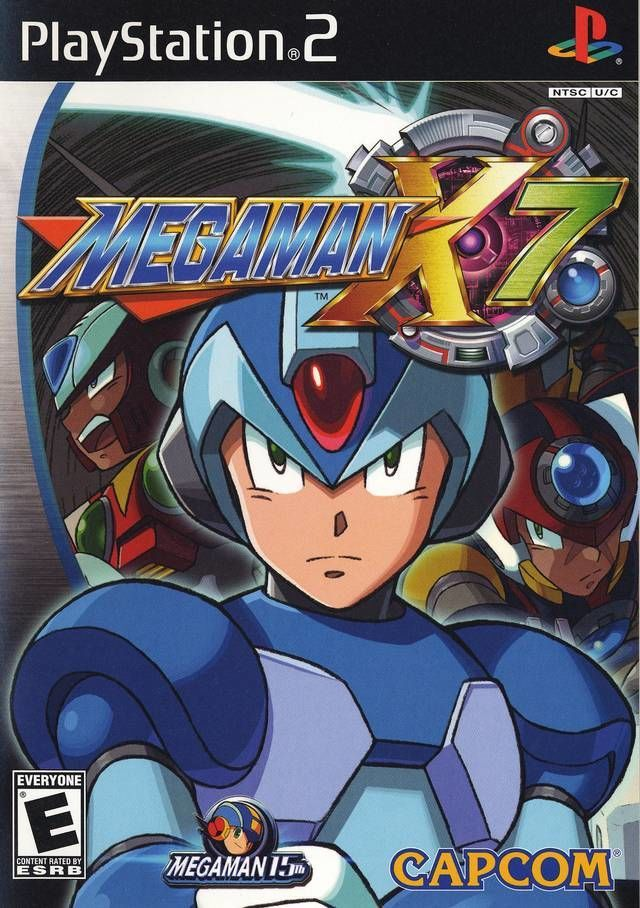 Megaman x7 toda la informaci n ps2 vandal for Megaman 9 portada