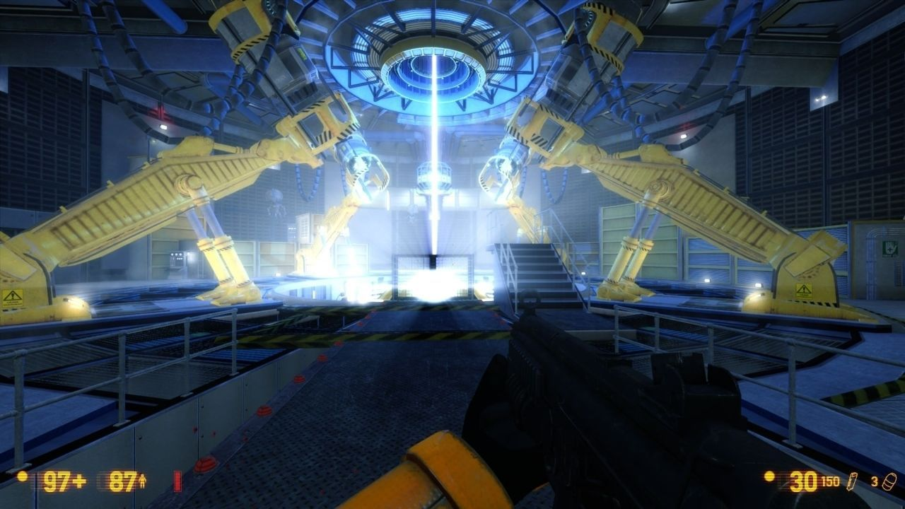 Black Mesa is shown in new images with their new patch