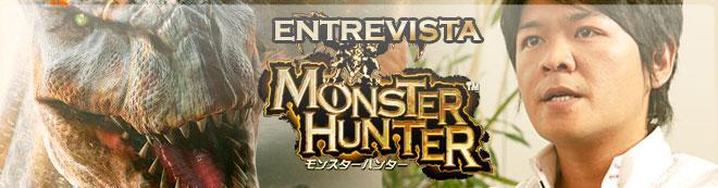 Ryozo Tsujimoto y Monster Hunter