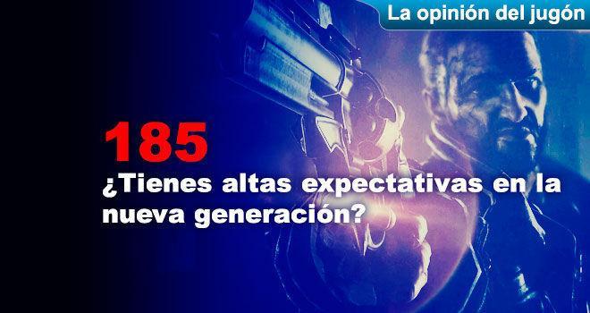 ¿Tienes altas expectativas en la nueva generación?