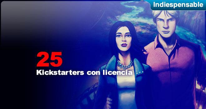 Kickstarters con licencia