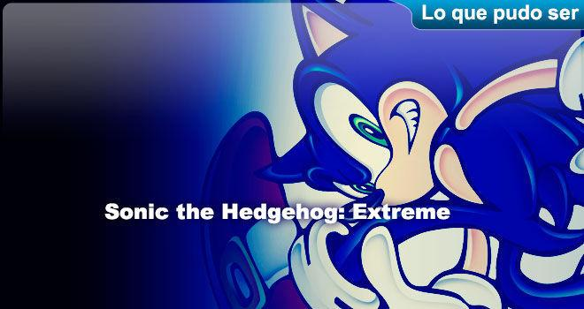 Sonic the Hedgehog: Extreme