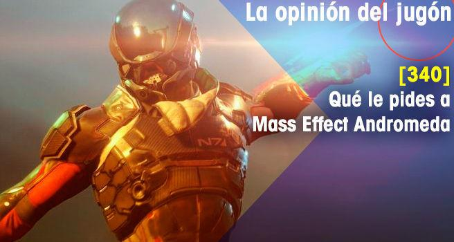 Qué le pides a Mass Effect Andromeda