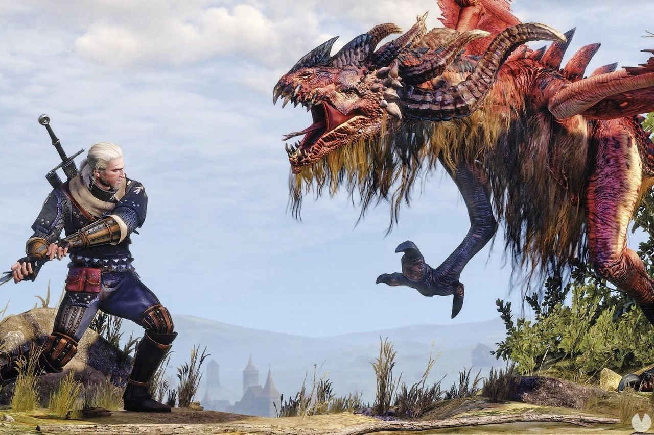 The Witcher 3: Wild Hunt, Geralt, Contrato, Dragón