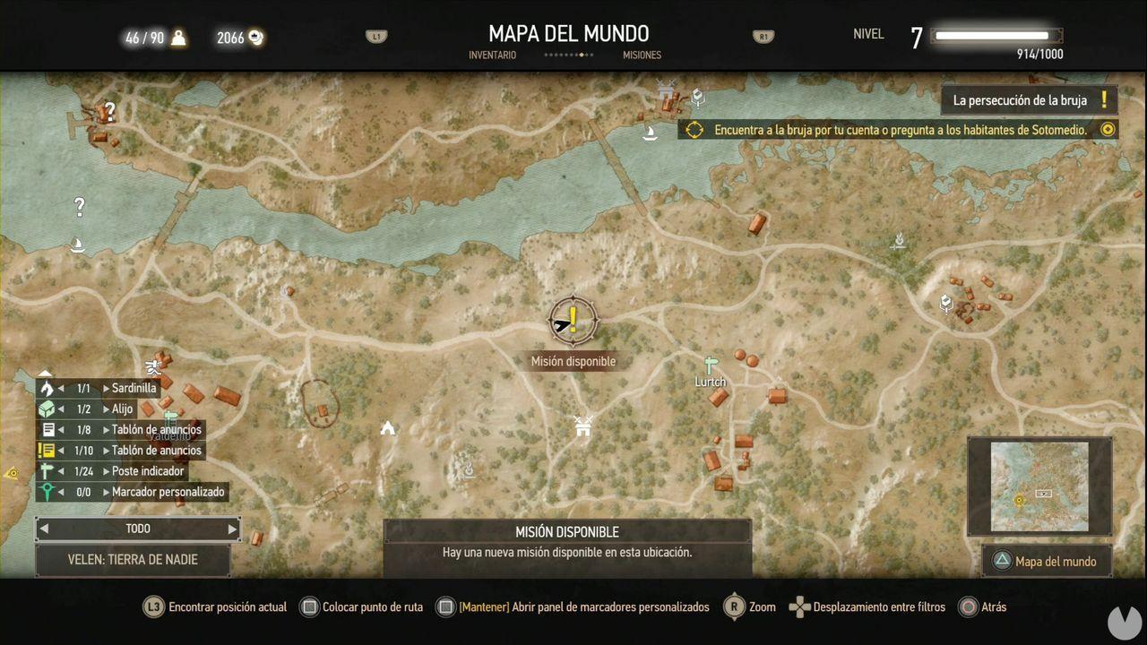 The Witcher 3: Wild Hunt, Misiones secundarias, Velen, Mercancías peligrosas