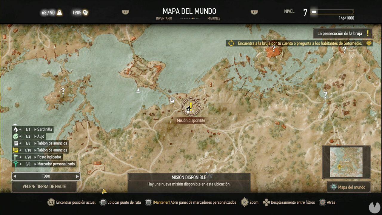 The Witcher 3: Wild Hunt, Misiones Secundarias, Velen, Documentos falsos