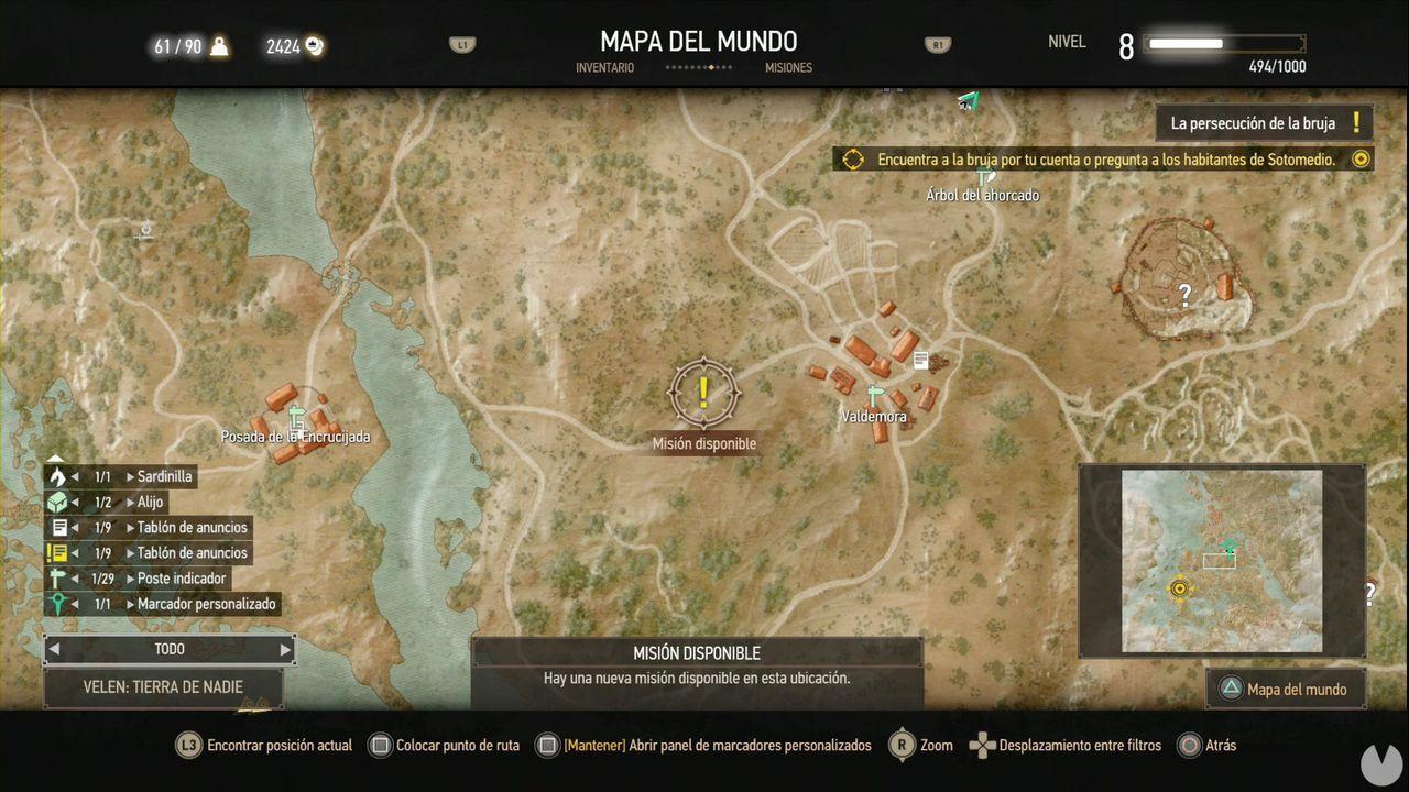 The Witcher 3: Wild Hunt, Misiones secundarias, Velen, Piras fúnebres