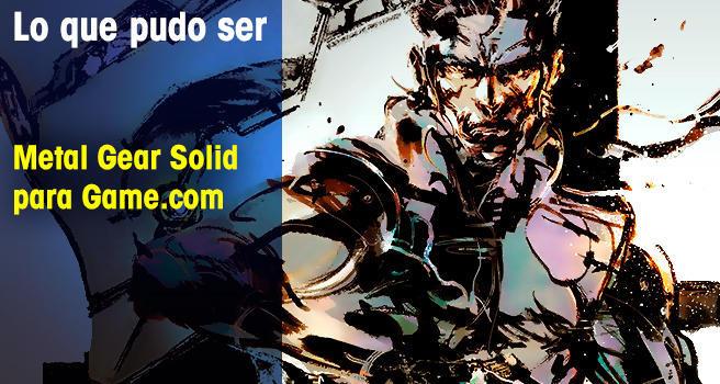 Metal Gear Solid para Game.com