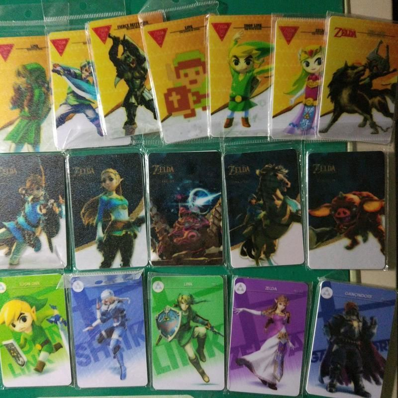 Saisi plus de 6850 cartes amiibo contrefaçon à partir d'un vendeur en Taiwan