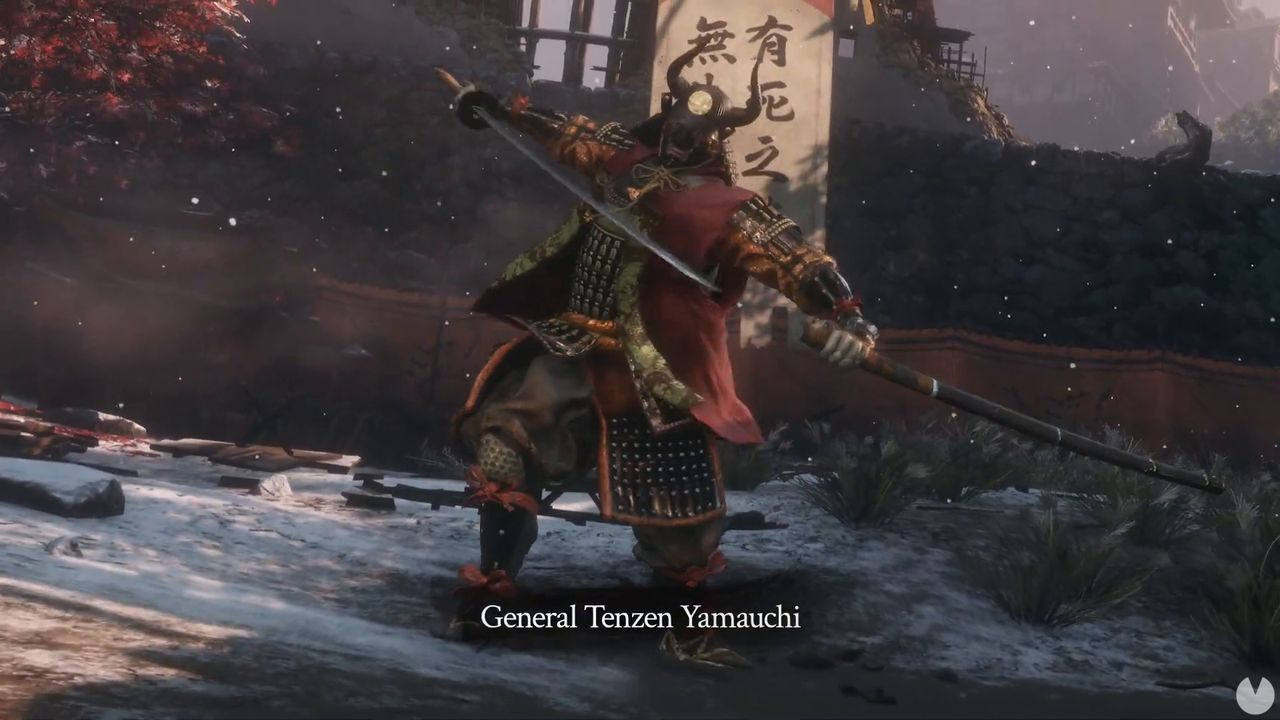 Sekiro: Shadows Die Twice shown to Tenzen Yamauchi, one of their chiefs