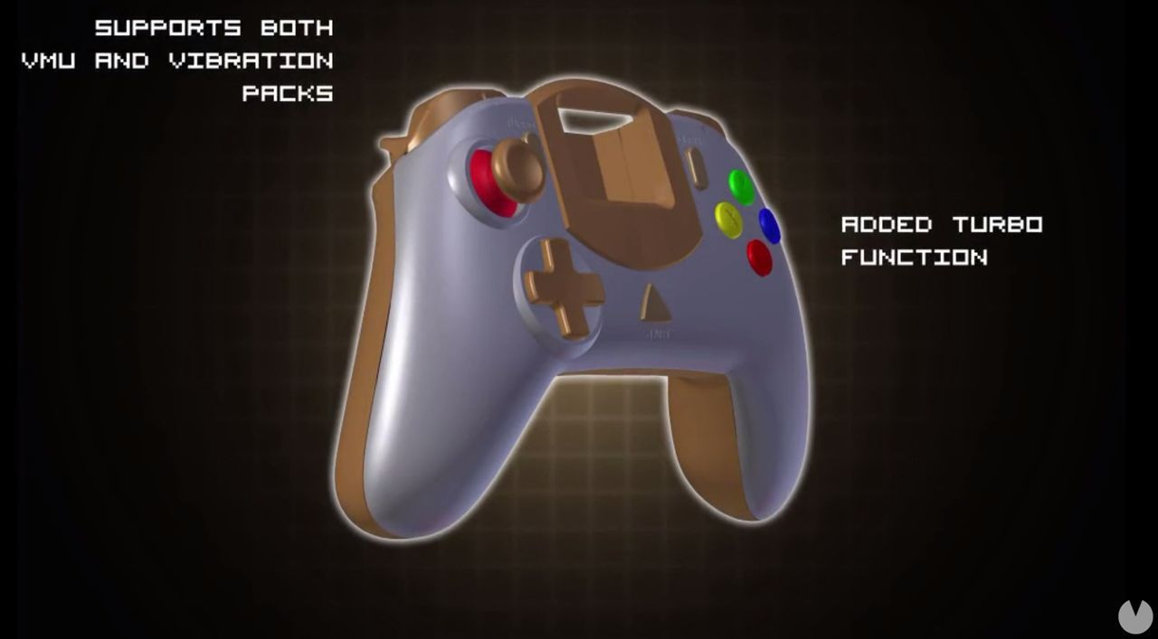 A controller for the Dreamcast hits Kickstarter