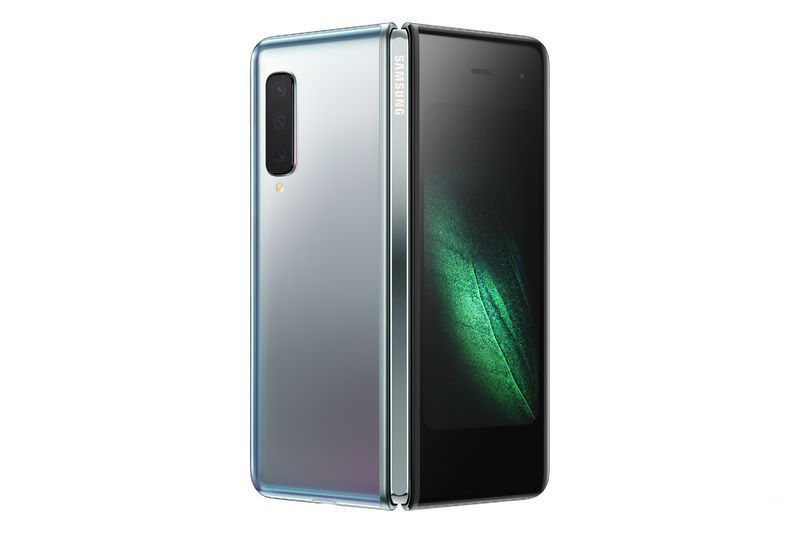 Samsung introduces Galaxy Fold, the flip phone from 2000 euros