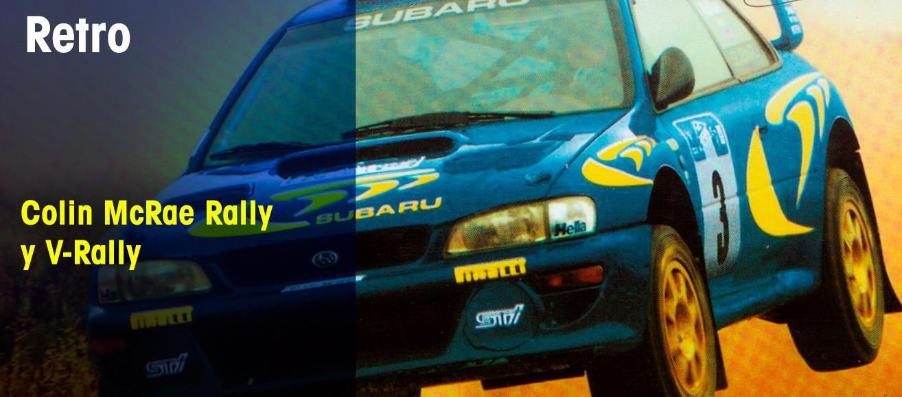 Colin McRae Rally y V-Rally
