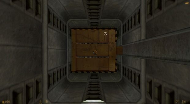 Half-Life becomes a shooting game with aerial perspective