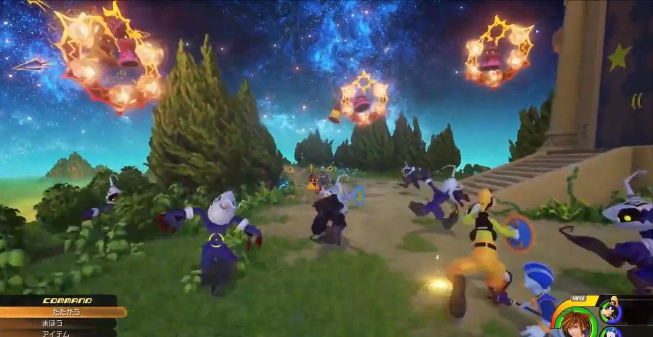 The players remember some areas cut out of Kingdom Hearts III
