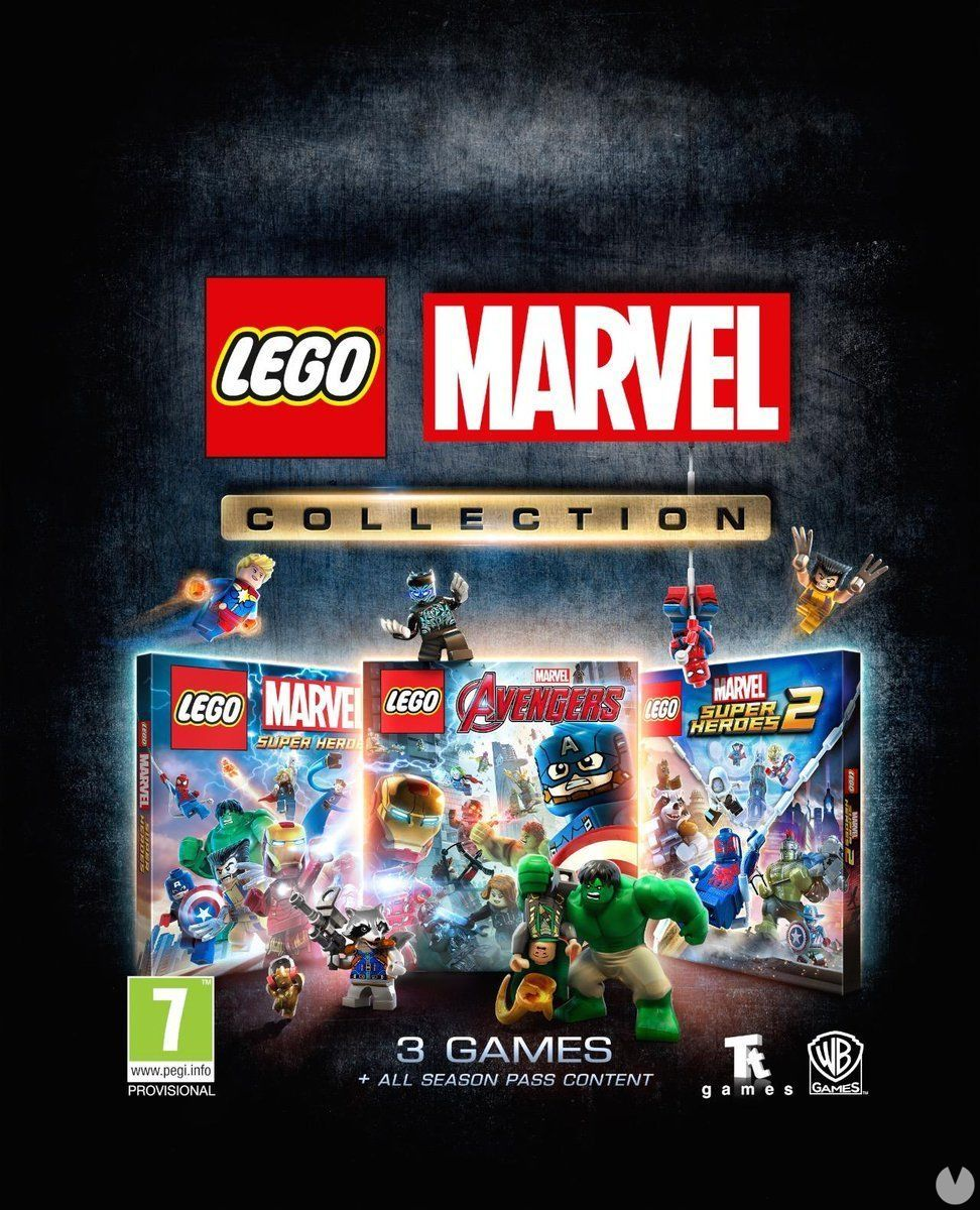 The collection LEGO Marvel Collection is released on the 15 march