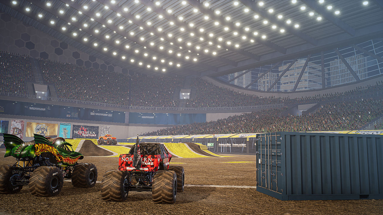 THQ Nordic shows us Monster Jam Steel Titans