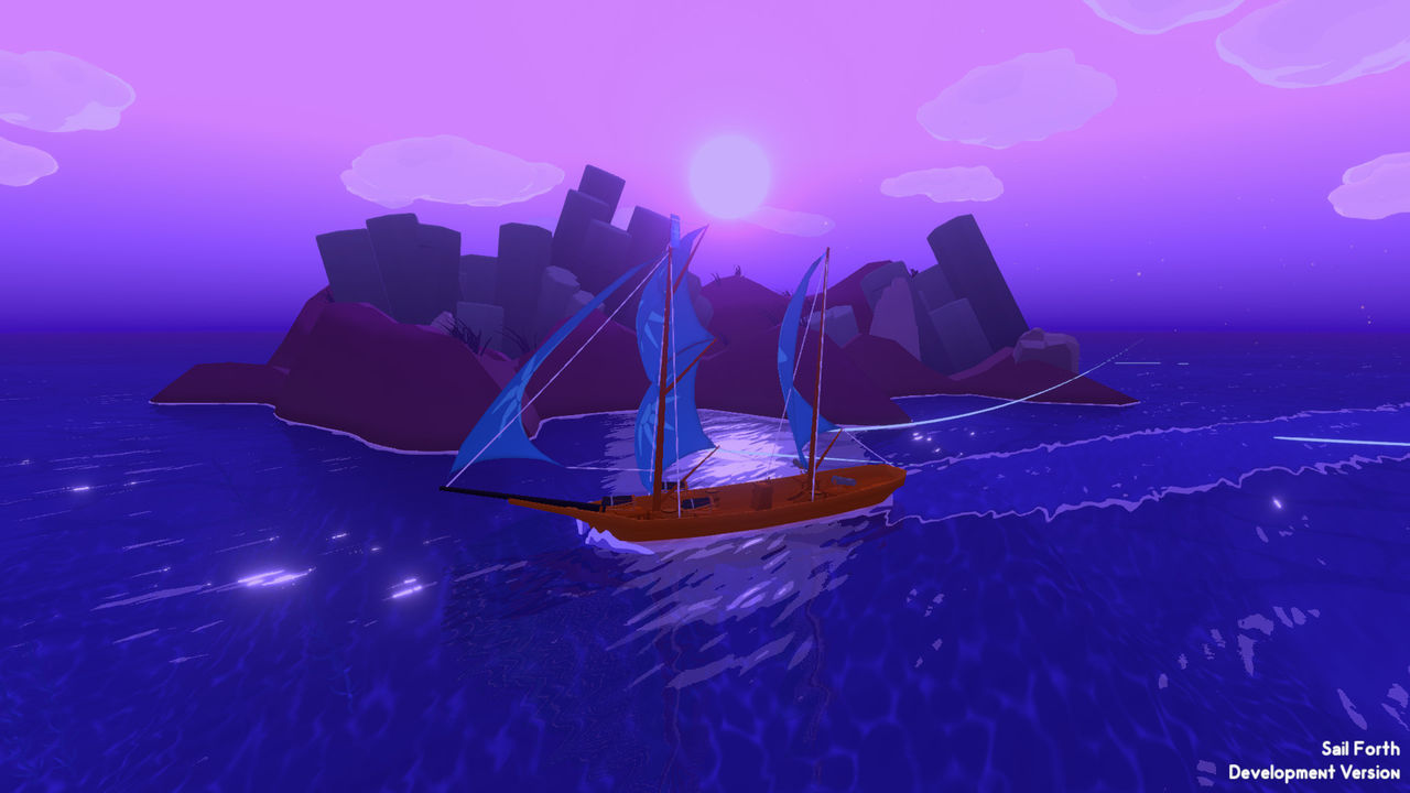 seas procedural Sail Forth are displayed in a new trailer