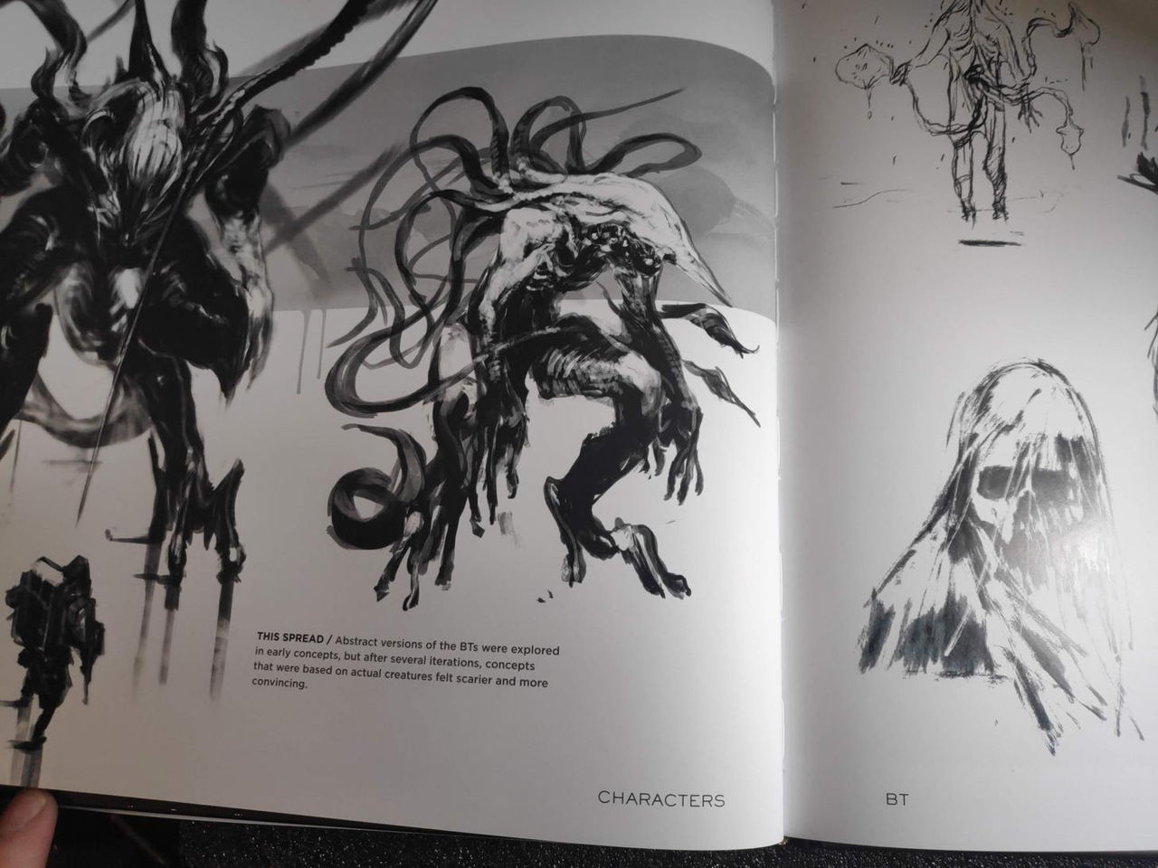 First images from the book of illustrations that explores the origin of Death Stranding