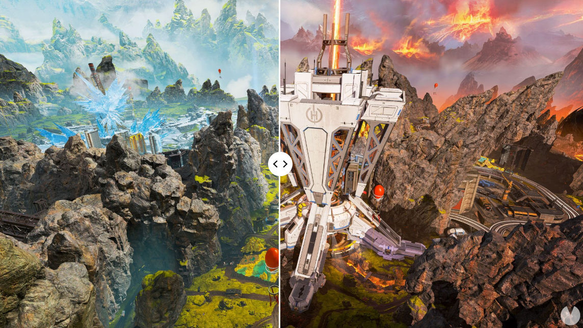 Apex Legends season 4 changes in the map - Collector planetary