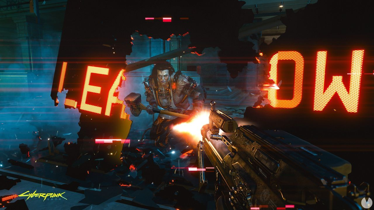Cyberpunk 2077 is displayed in a new image of gameplay