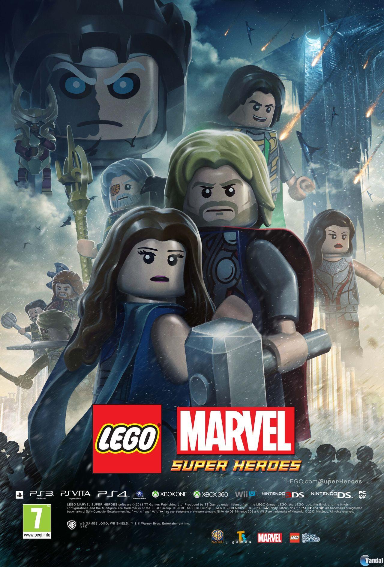 Anunciado El Primer Contenido Descargable De Lego Marvel Super