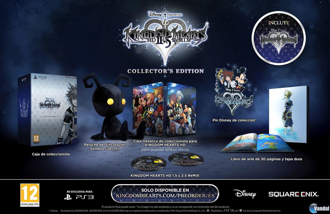 Square Enix Nos Muestra En Video La Edicion Coleccionista De Kingdom