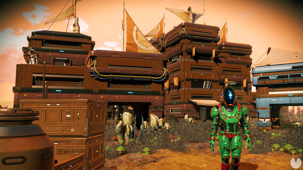 No Man's Sky: Frontiers, la nueva actualización gratuita, añade asentamientos alienígenas