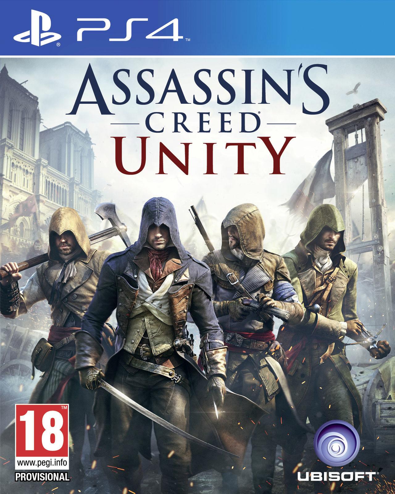 Assassins Creed Unity (SEMINUEVO)