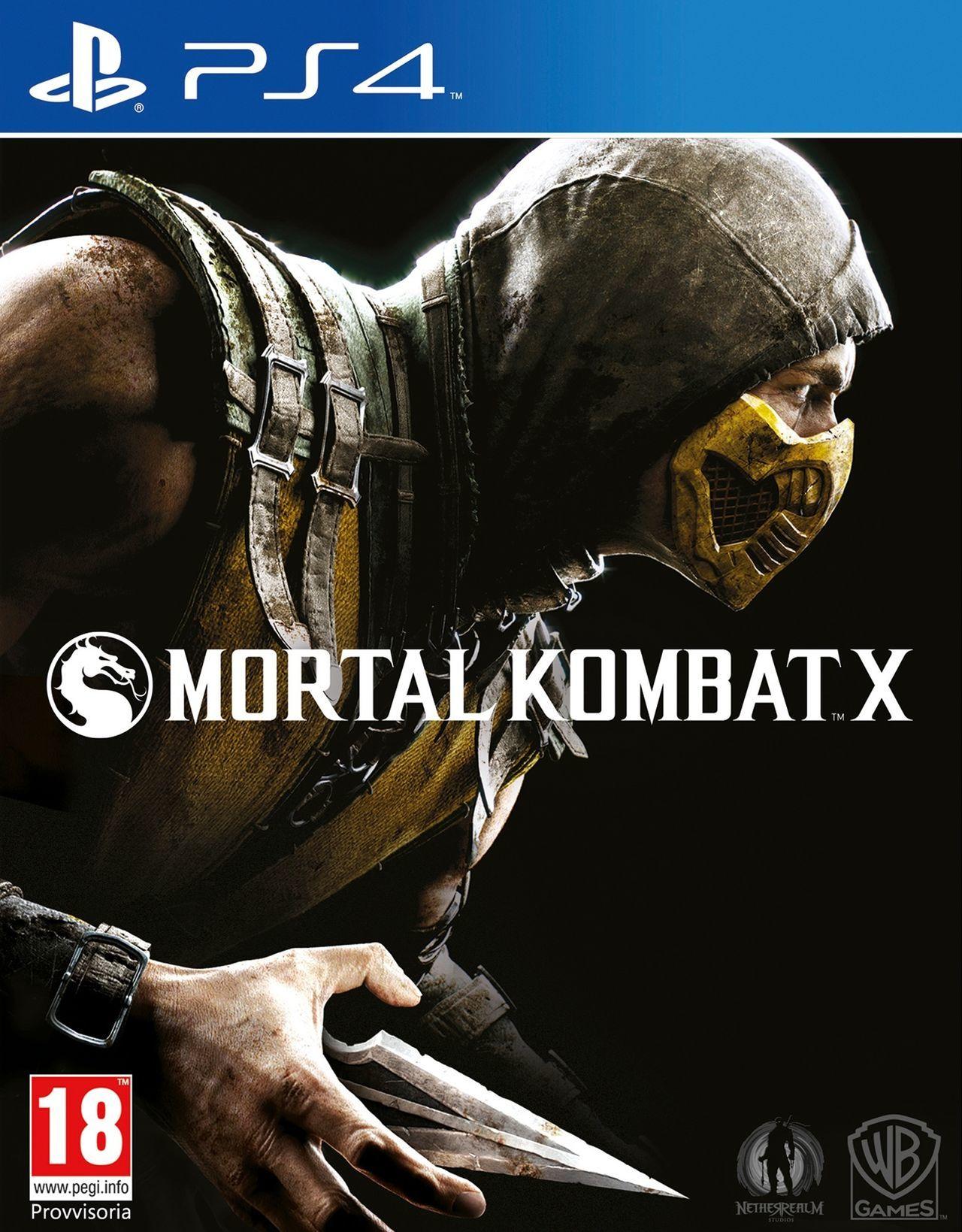 Mortal Kombat X SEMINUEVO