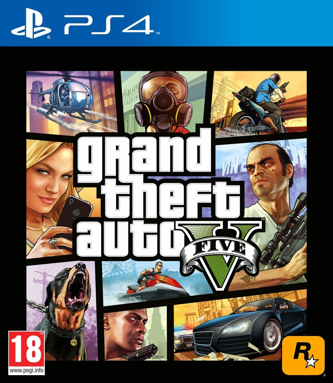 Grand Theft Auto V Toda La Informacion Ps4 Vandal