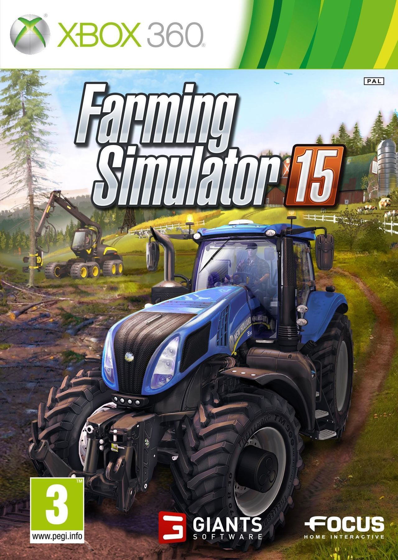 farming simulator 15 toda la informaci n xbox 360 vandal. Black Bedroom Furniture Sets. Home Design Ideas