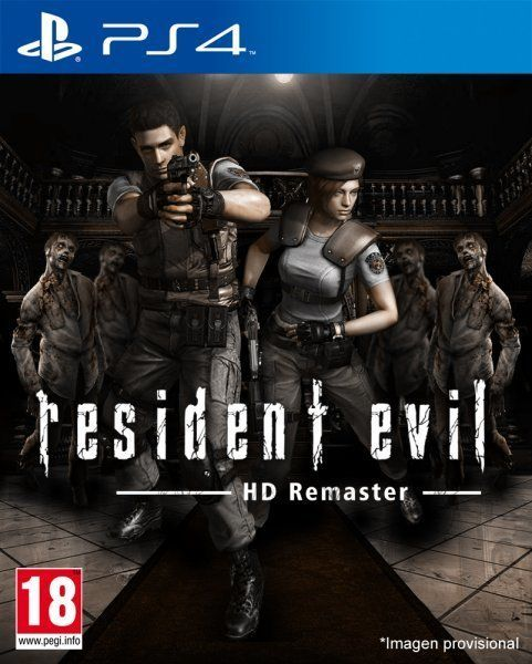 Resident Evil Hd Remaster Videojuego Ps4 Ps3 Pc Xbox 360 Y