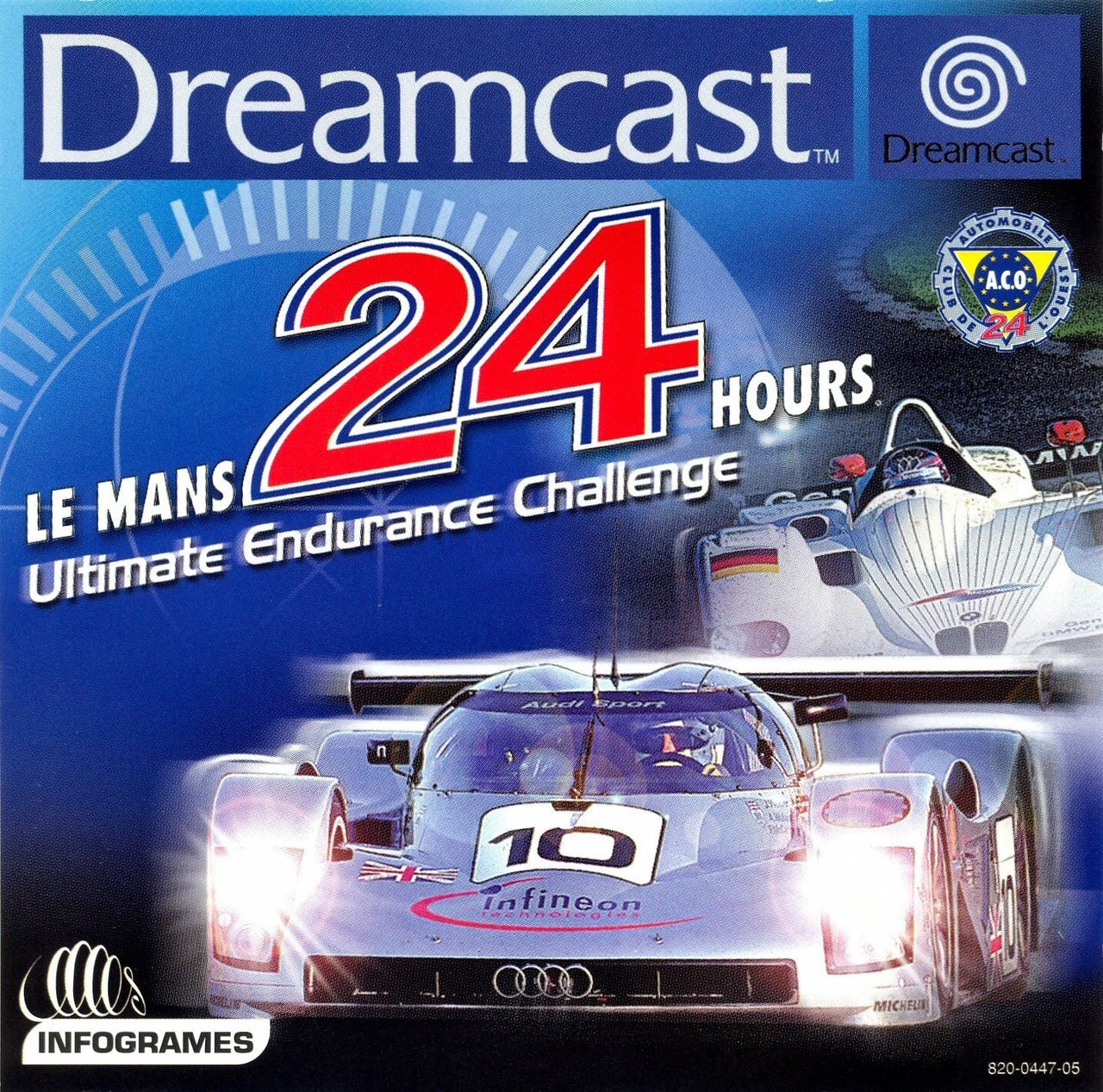 le mans 24 horas toda la informaci n dreamcast vandal. Black Bedroom Furniture Sets. Home Design Ideas