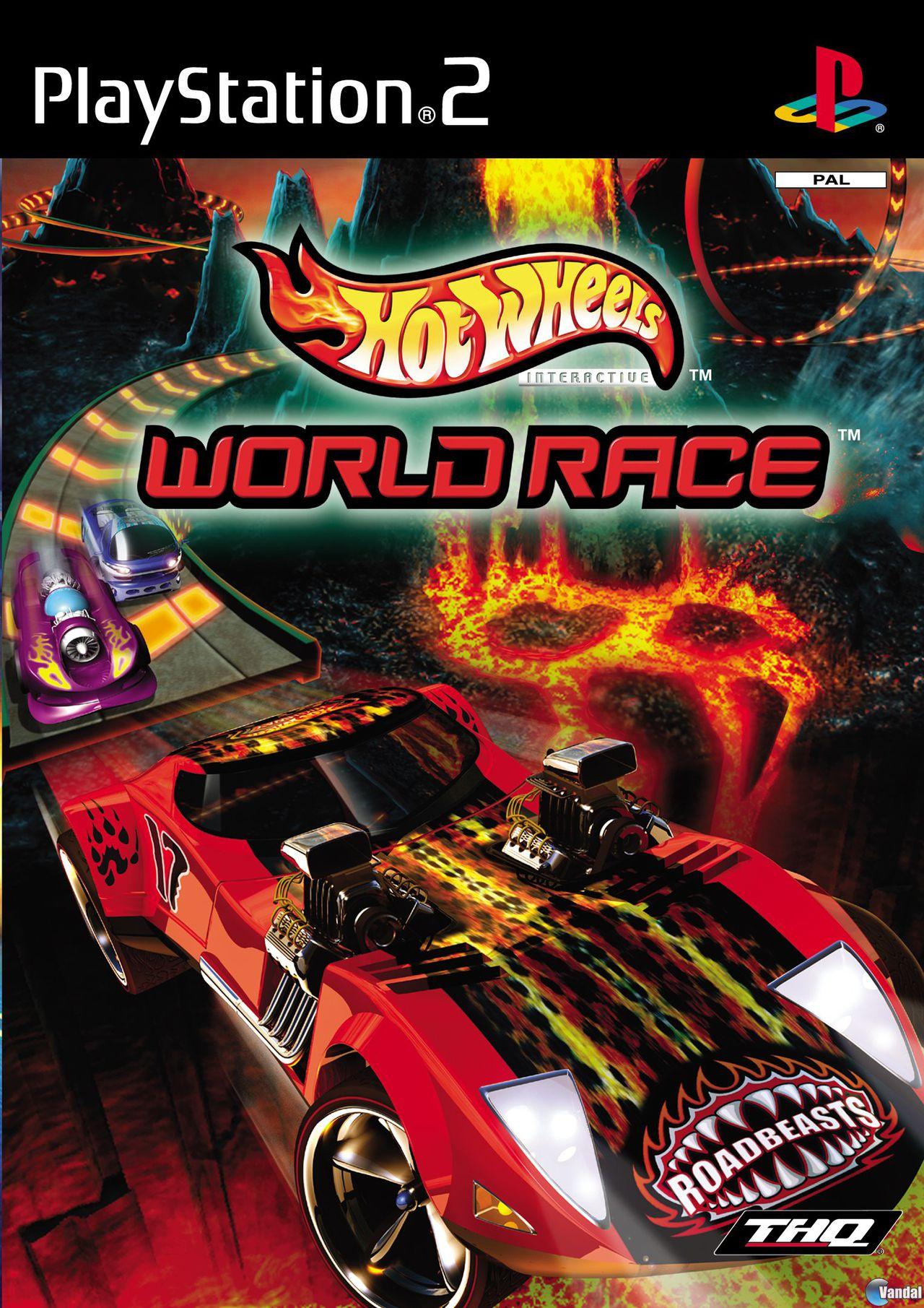 Hot Wheels World Race Toda La Informacion Ps2 Gamecube Game Boy