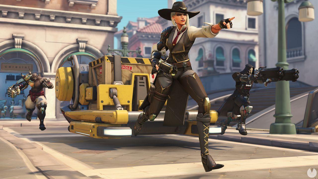 Ashe es la nueva heroína de Overwatch