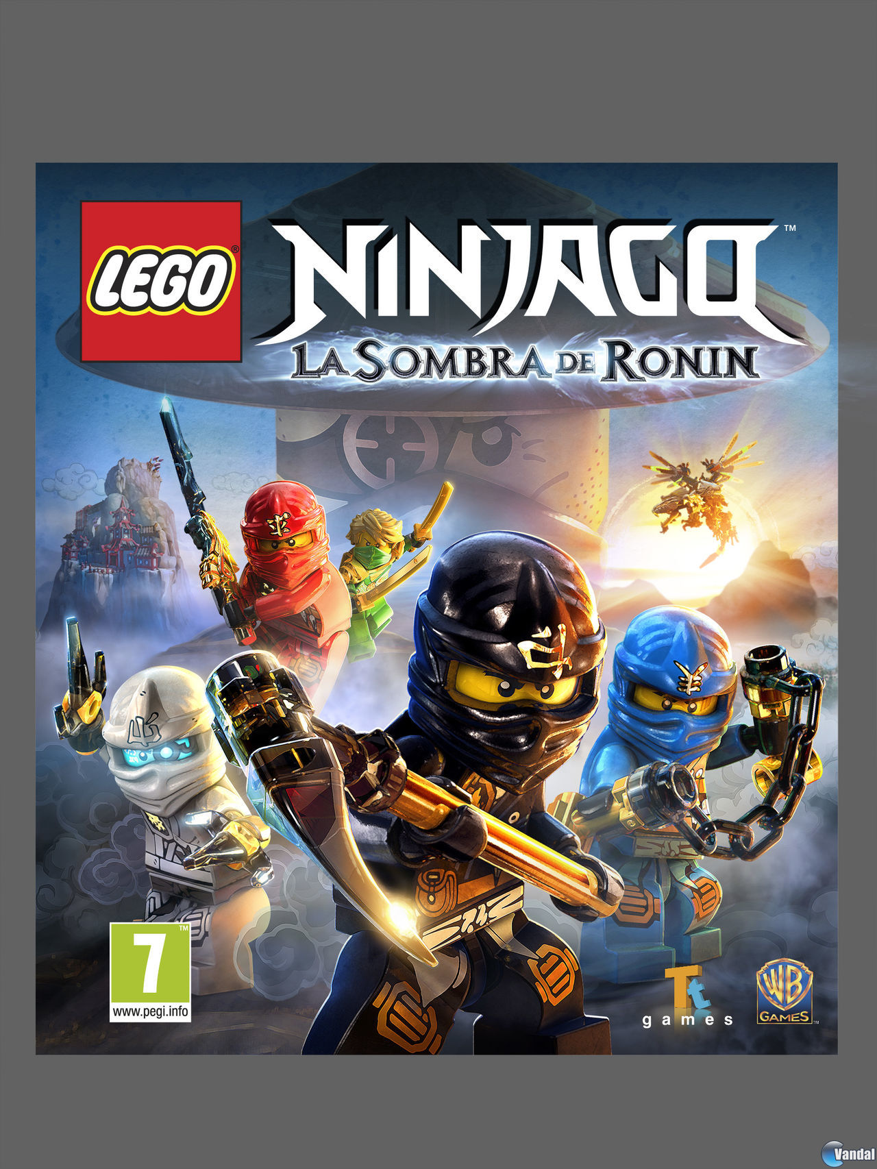 Desvelada La Portada De Lego Ninjago La Sombra De Ronin Vandal