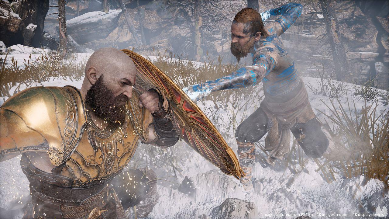 God of War de PS4 ahora a 60fps en PS5