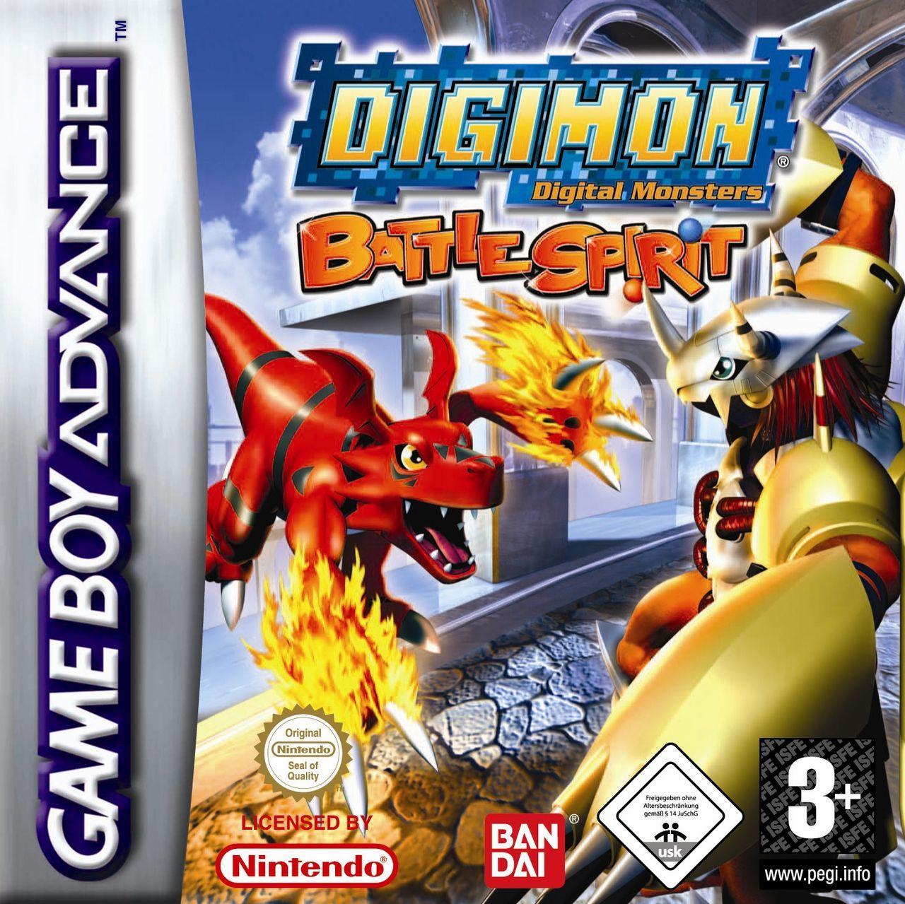 Digimon Battle Spirit Toda La Informacion Game Boy Advance Vandal