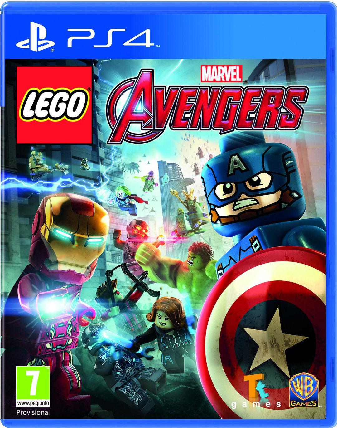 Lego Marvel Vengadores Toda La Informacion Ps4 Pc Ps3 Xbox 360