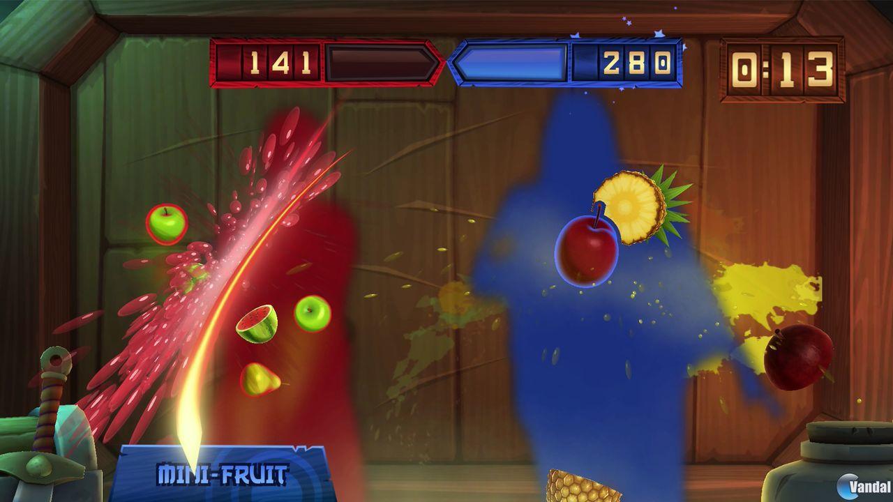 Fruit Ninja Kinect 2 se estrenará el 18 de marzo