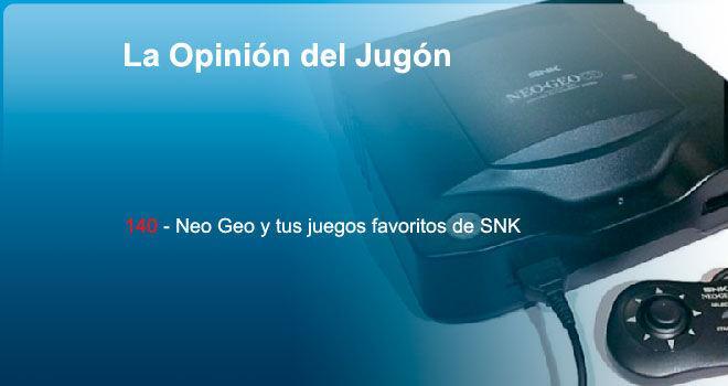 Neo Geo y tus juegos favoritos de SNK