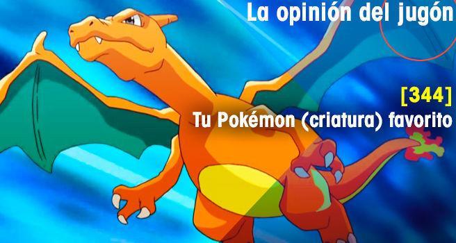 Tu Pokémon (criatura) favorito